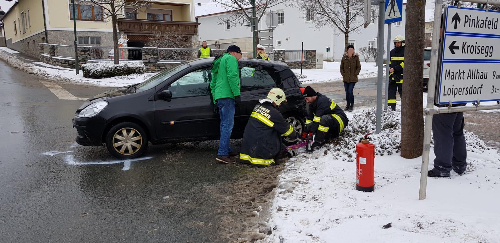Technischer Einsatz vom 23.01.2019  |  (C) Feuerwehr Grafenschachen (2019)